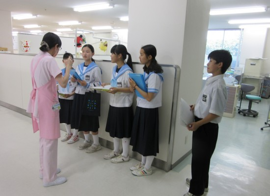 総合学習プログラム・働き方発見デー - 地域社会へ …